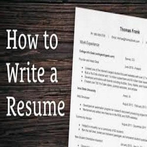 7 Tips For Writing A Killer Resume